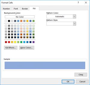 تنظیم رنگ صورت مغایرت در  Conditional Formatting