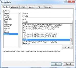 ابزار  Custom Format Cells