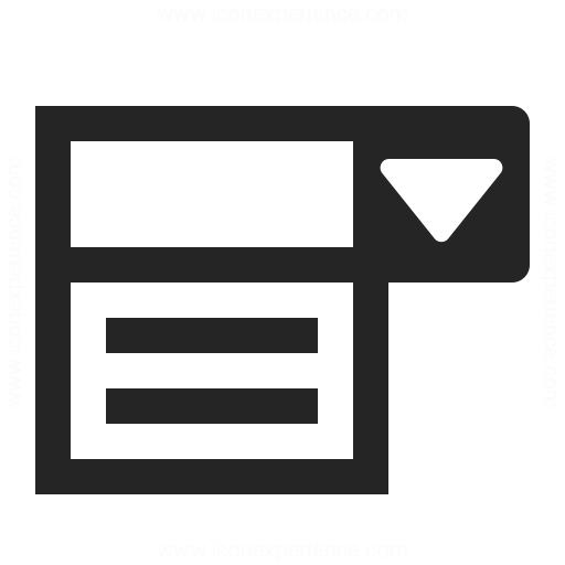 لیست کشویی با combobox
